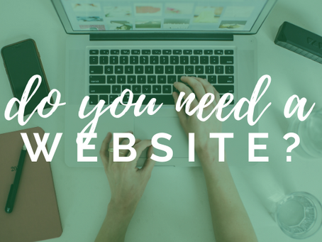 Do freelance development consultants need a website? (plus free website creation cheatsheet)