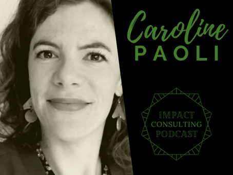 #7: Caroline's journey: Using freelancing to maximise personal impact in the humanitarian space