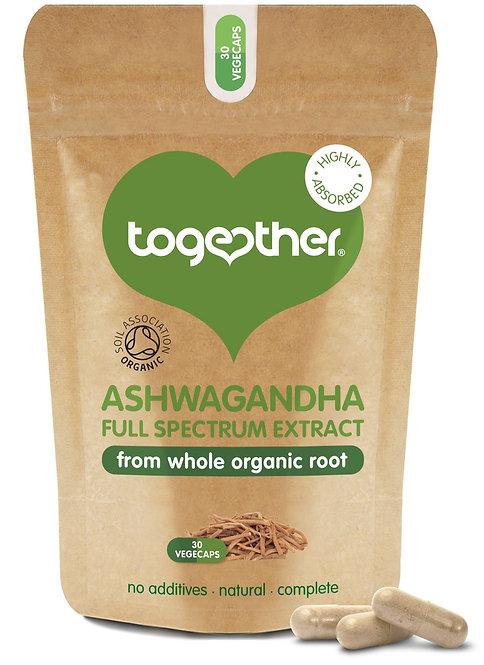 Together Health Whole Root Ashwagandha - 30 Veg Caps