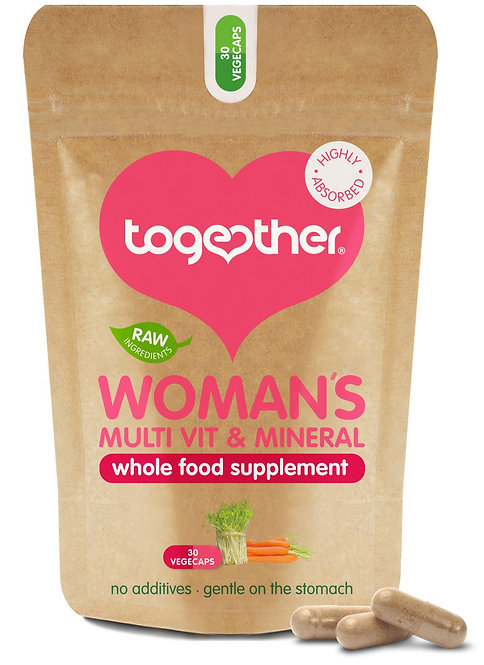 Together Health Womans Multi Vit & Mineral - 30 Veg Caps