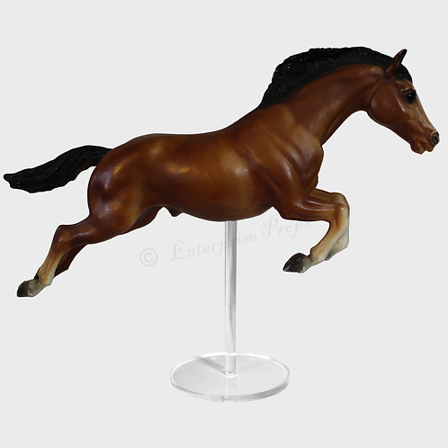 Jumping Horse Replacement Model Horse Stand