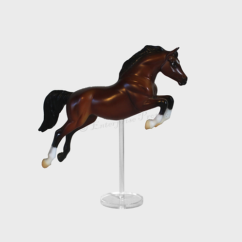 Warmblood Jumper Replacement Model Horse Stand