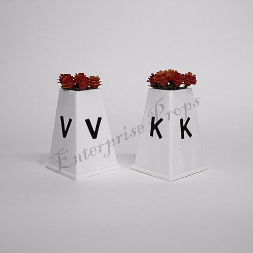 Berkshire Dressage Letter Marker Blocks