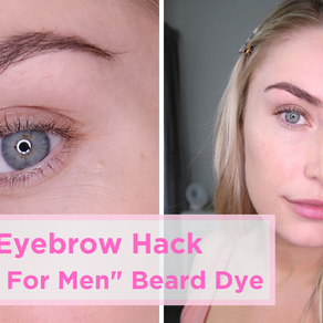 Beauty HACK: DIY Eyebrow Tint @ Home