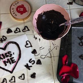 Valentine's Day (Skinny!) Ice Cream Cake <3