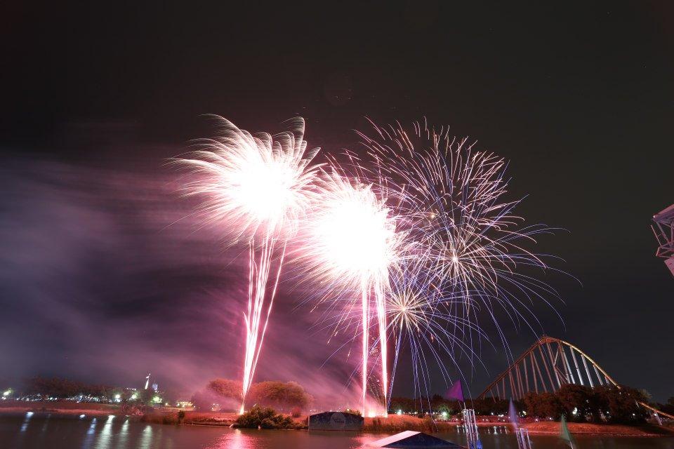 Autin Seaworld Fireworks