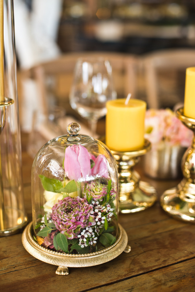 Vibrant Wedding in yellow and pink