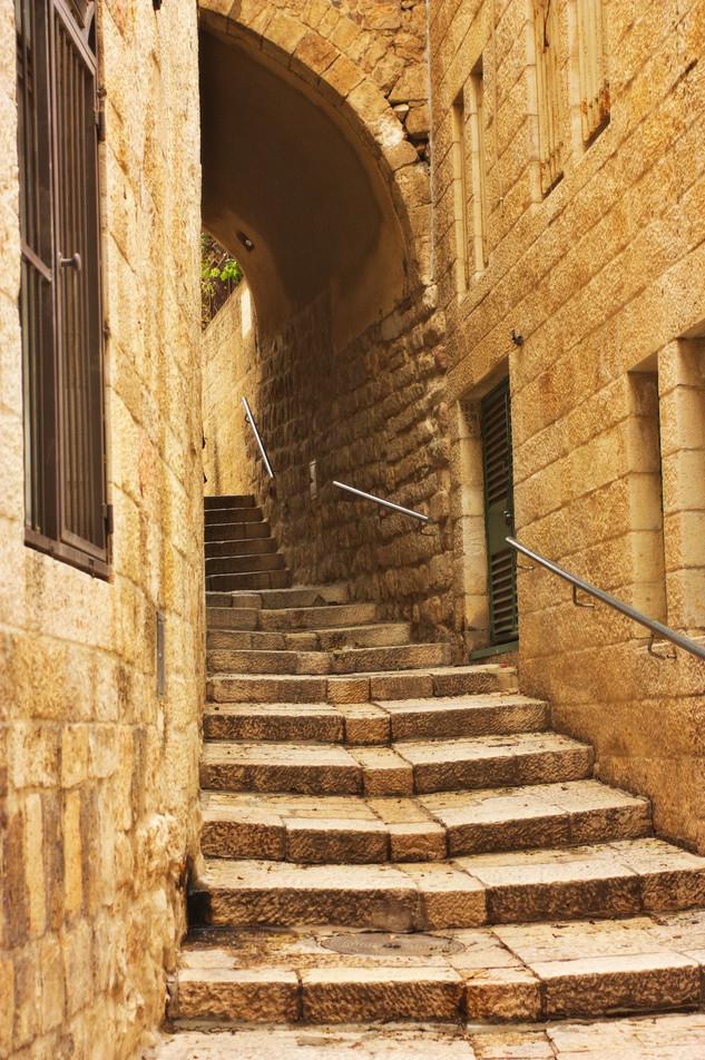 In the alleys of Jerusalem