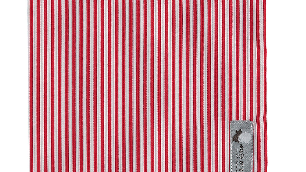 Striped Red Cloth Bag