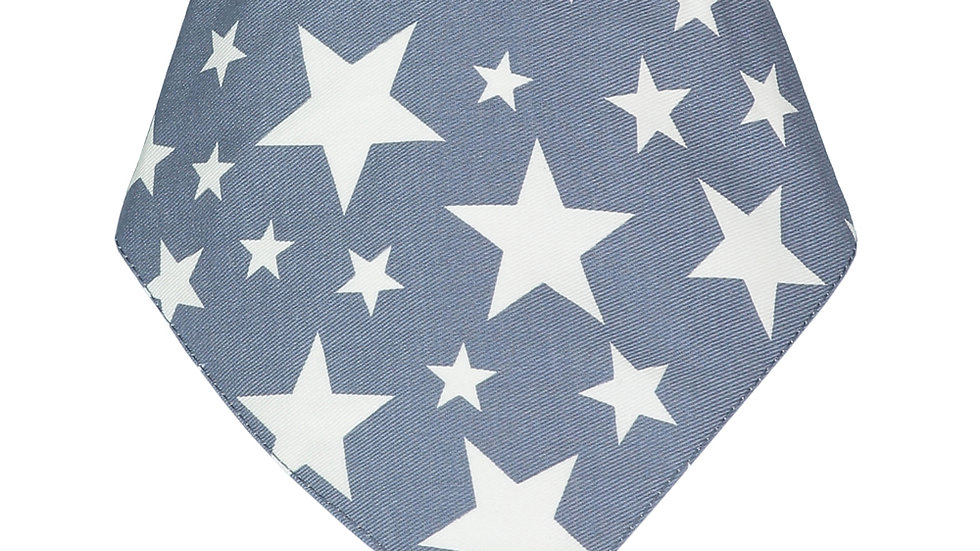 Denim Blue Cowboy Bandana Bib