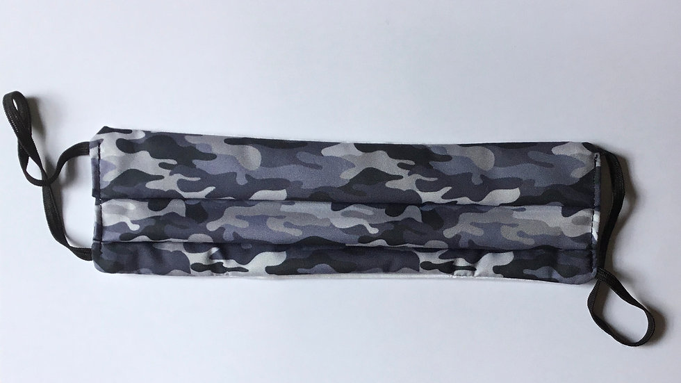 Camouflage Grey Face Mask