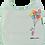 Thumbnail: Rabbit with Balloons Toddler Bib