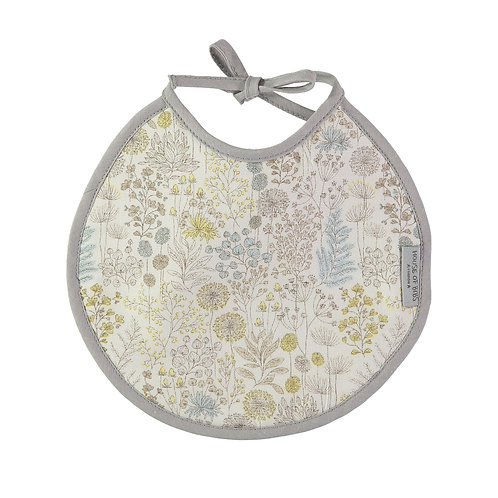 Antique Flora Round Bib