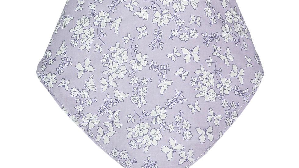 Lavender Flora Bandana Bib