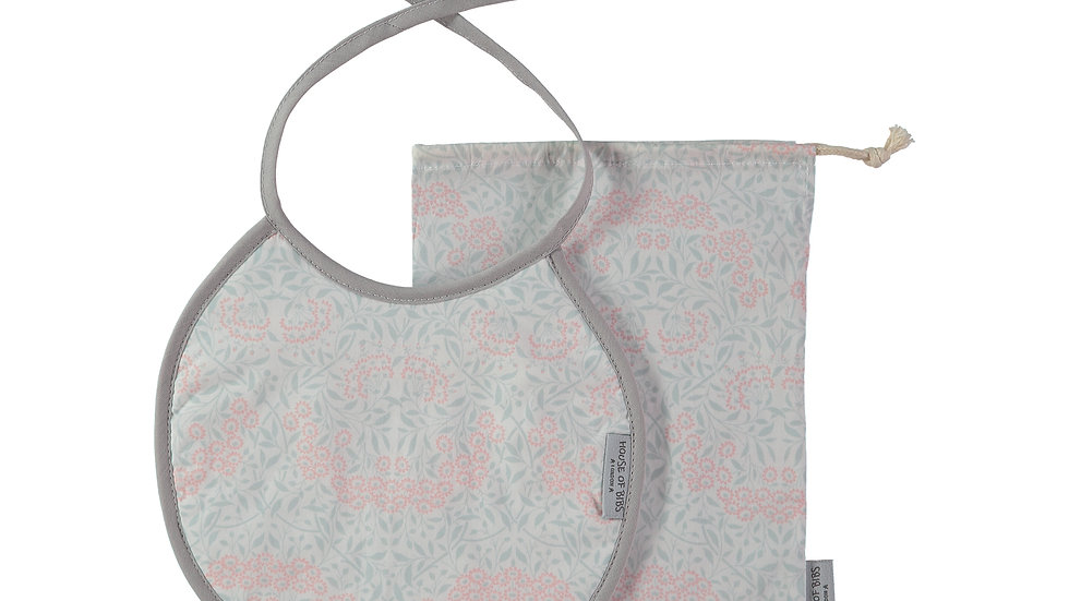 Secret Garden Round Bib Gift Set (2 pieces)