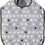Thumbnail: Black & Grey Stars Toddler Bib