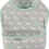 Thumbnail: Aqua & Grey Dogs Toddler Bib