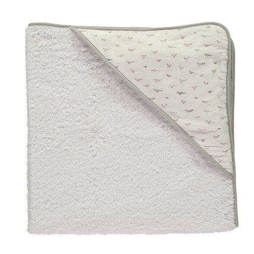Sweet Whispers Pink Hooded Towel