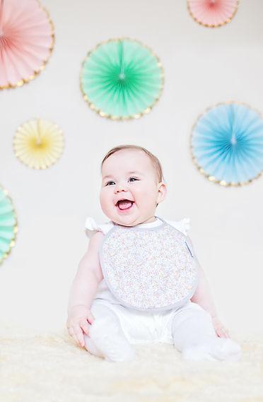 House of Bib baby round bibs beautiful quality timeless fabrics