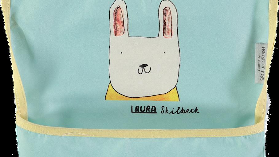 Rabbit Toddler Bib