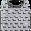 Thumbnail: Black & Grey Dogs Toddler Bib