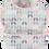 Thumbnail: Pink & Grey Geometric Toddler Bib