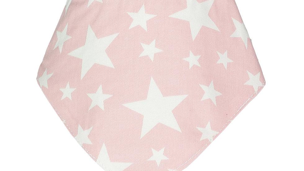 Light Pink Cowboy Bandana Bib