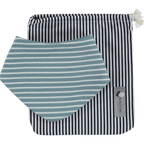Blue Stripes Gift Set (2 pieces)