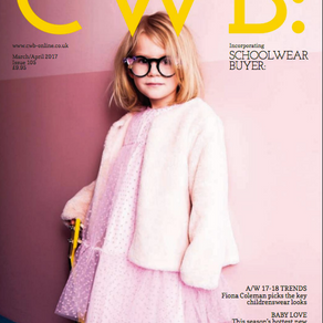 Our new Toddler Bib Collection in CWB Magazine