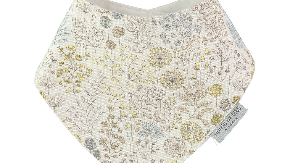Babero Bandana Antique Flora