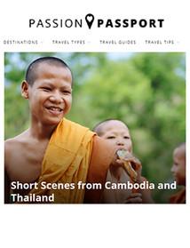 Short Scenes from Cambodia & Tha,iland