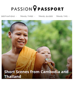 Short Scenes from Cambodia & Tha,iland