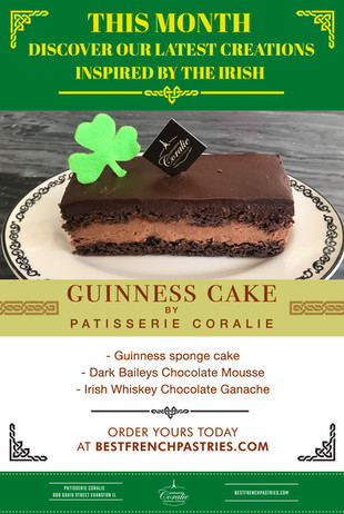 Celebrate St-Patrick's Day with Our Guinness Cake