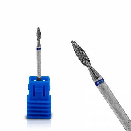 E-file - diamond cuticle drill bit - flame