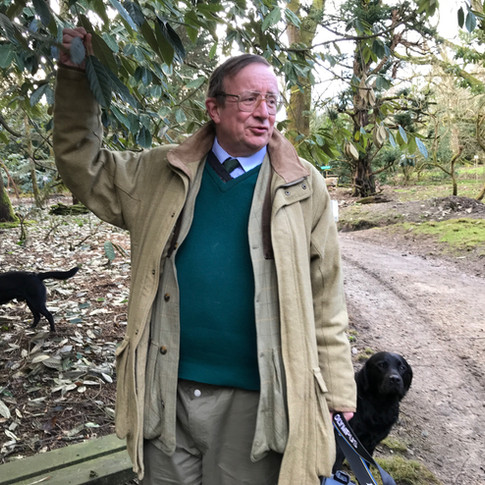 Charles, owner of Caerhays Estate