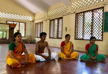 Kalakshetra dance workshop