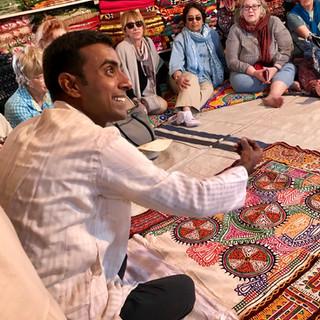 Tour leader Niravbhai
