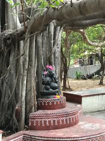 Kalakshetra dance school deity