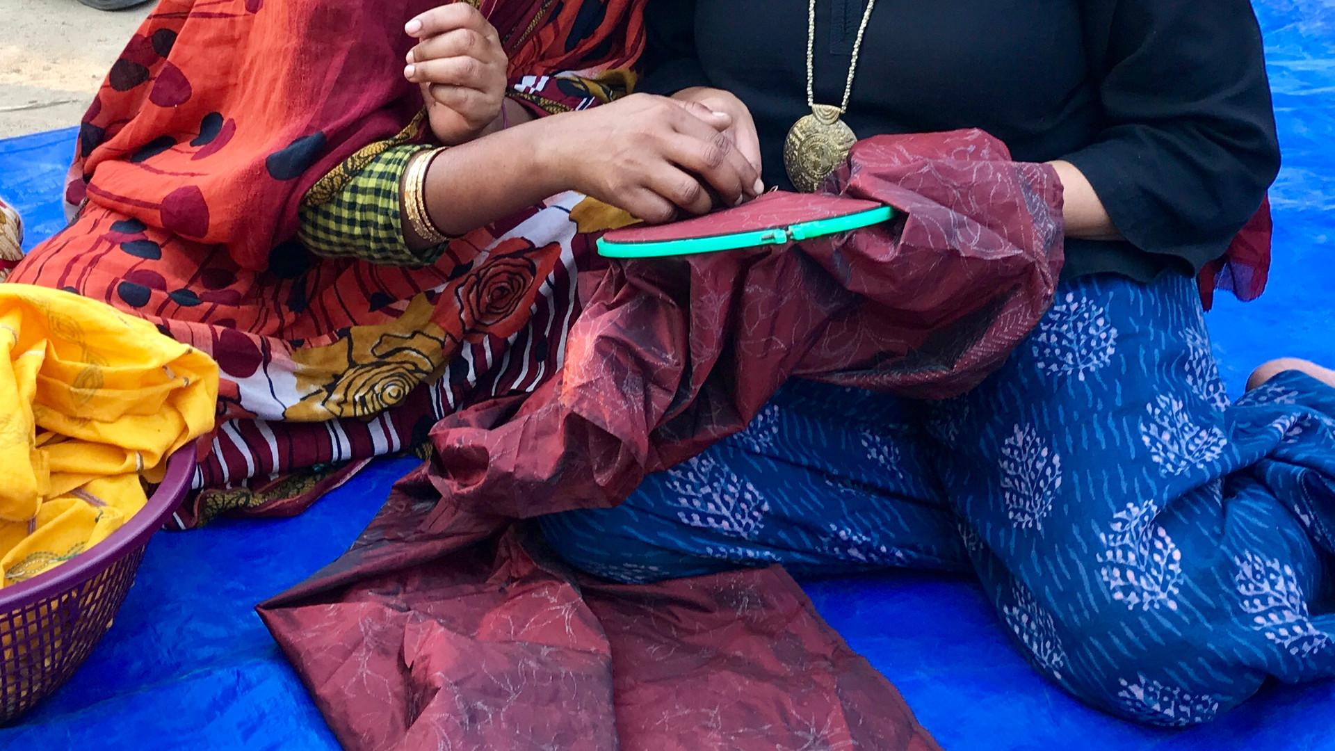 West Bengal kantha workshop