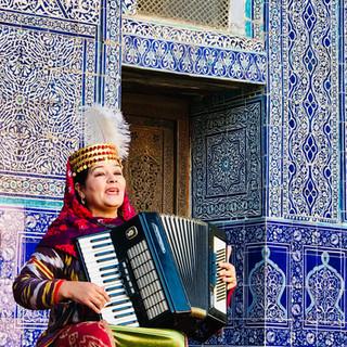 Khiva busker