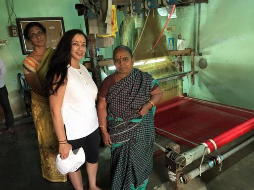 Kanchipuram weavers