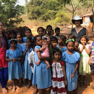 Village school visit