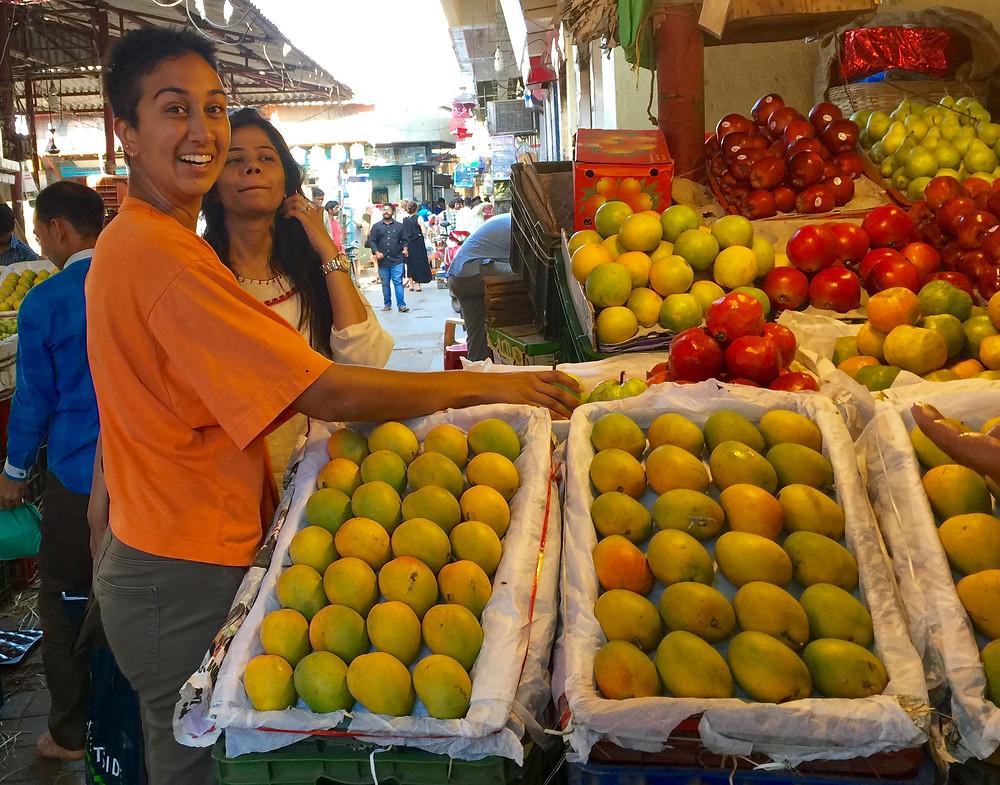 Crawford Market mangoes