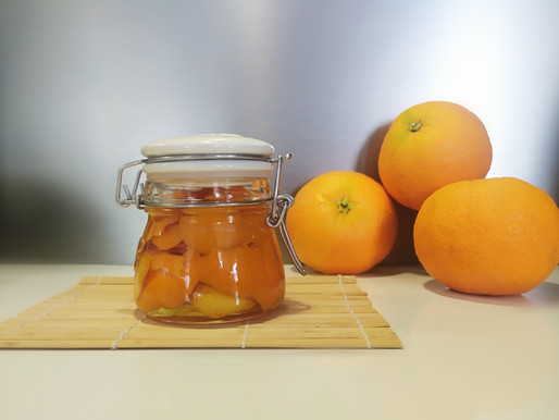 Tintura de Naranja para tu Ambientador Natural