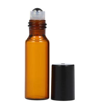 10ml-Amber-Glass-Roll-on-Roller-Bottle-Essential-Oils-Bottles-Stainless-Steel-Roller-Essen