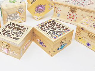 New Collection of WOODEN BOXES are Available for Online Purchase!