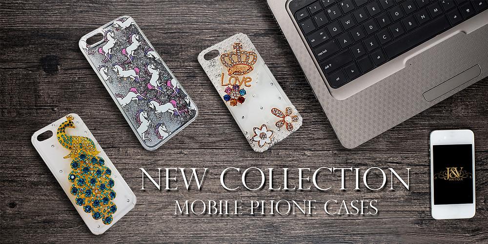 Mobile Phone Cases. J & V Boutique.