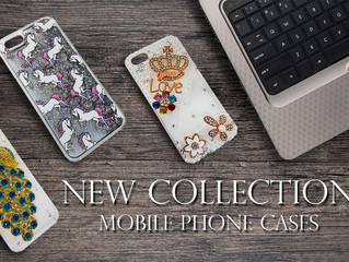 FINALLY! NEW COLLECTION 3D Pattern Sparkling & Liquid Mobile Phone CASES ARE AVAILABLE NOW!