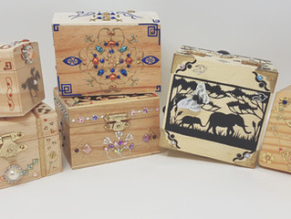 Autumn Collection of WOODEN BOXES are READY !