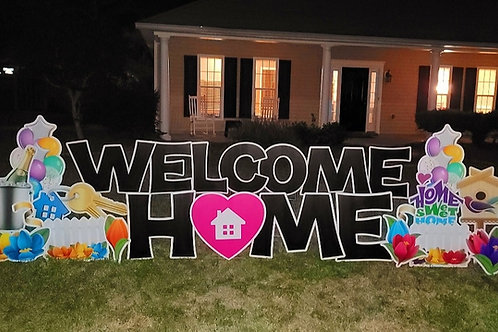 Realtor:  Welcome Home or  Open House